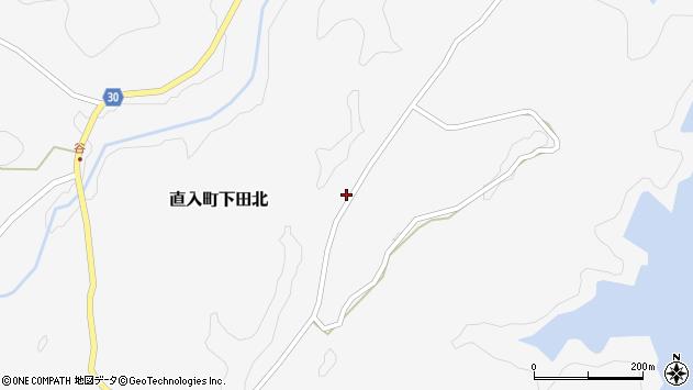 大分県竹田市直入町大字下田北2951周辺の地図