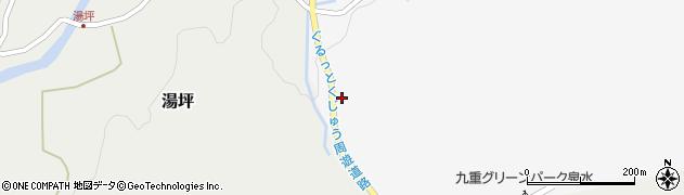大分県玖珠郡九重町田野198周辺の地図