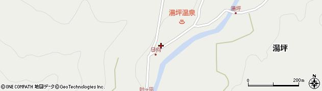 大分県玖珠郡九重町湯坪1004周辺の地図