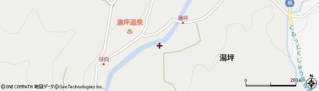 大分県玖珠郡九重町湯坪275周辺の地図