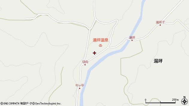 大分県玖珠郡九重町湯坪1003周辺の地図