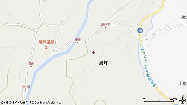 大分県玖珠郡九重町湯坪227周辺の地図