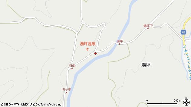 大分県玖珠郡九重町湯坪1037周辺の地図