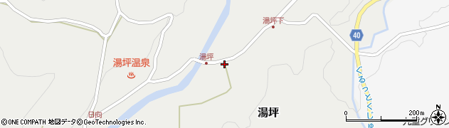 大分県玖珠郡九重町湯坪269周辺の地図