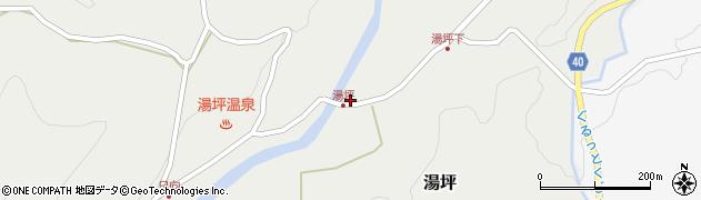 大分県玖珠郡九重町湯坪268周辺の地図