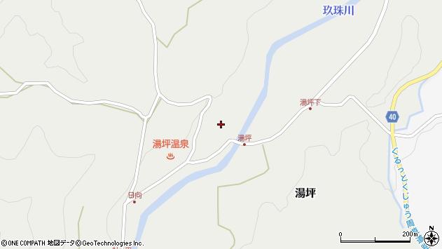 大分県玖珠郡九重町湯坪1068周辺の地図