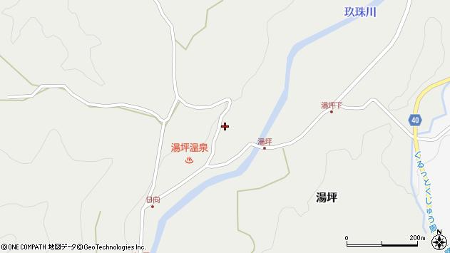 大分県玖珠郡九重町湯坪1066周辺の地図