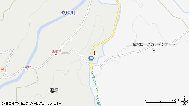 大分県玖珠郡九重町湯坪122周辺の地図