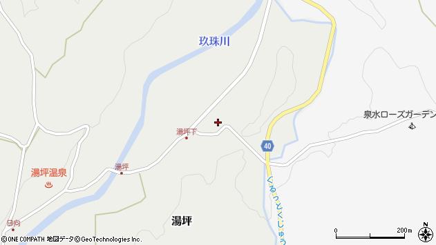 大分県玖珠郡九重町湯坪93周辺の地図