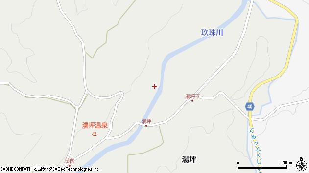 大分県玖珠郡九重町湯坪1104周辺の地図