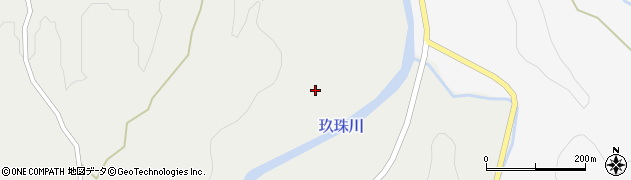 大分県玖珠郡九重町湯坪1151周辺の地図