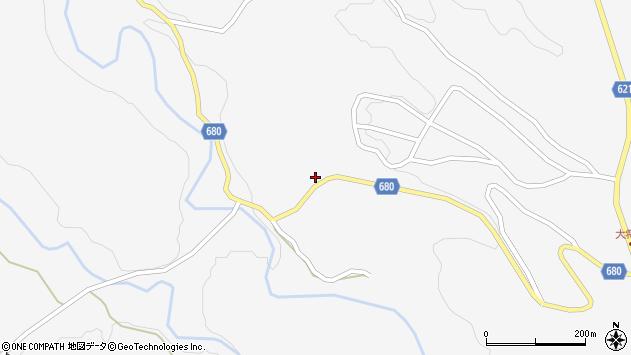 大分県玖珠郡九重町田野368周辺の地図