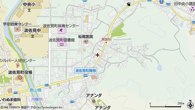 長崎県東彼杵郡波佐見町折敷瀬郷周辺の地図