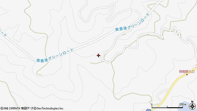 大分県竹田市直入町大字下田北1923周辺の地図