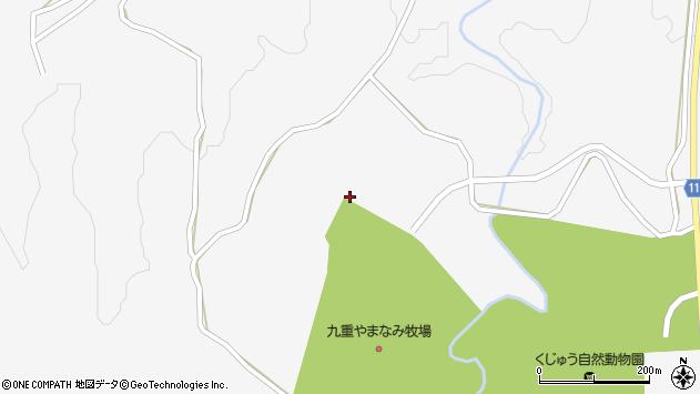 大分県玖珠郡九重町田野1681周辺の地図