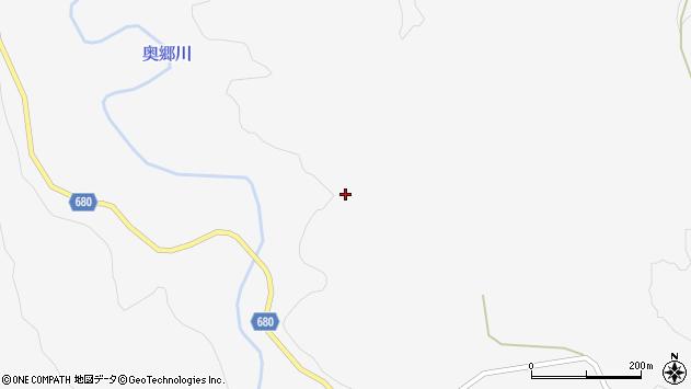 大分県玖珠郡九重町田野楮原周辺の地図