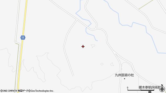 大分県玖珠郡九重町田野1726周辺の地図