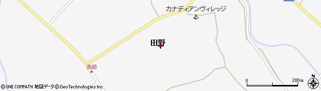 大分県玖珠郡九重町田野1700周辺の地図