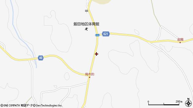 大分県玖珠郡九重町田野1630周辺の地図