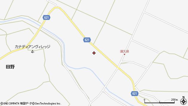 大分県玖珠郡九重町田野2428周辺の地図