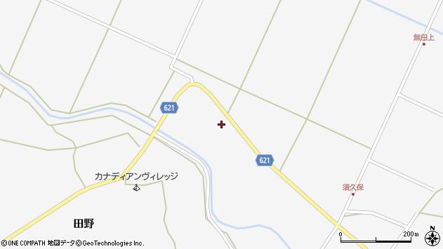 大分県玖珠郡九重町田野2429周辺の地図