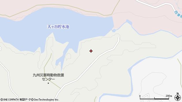 大分県玖珠郡九重町湯坪1585周辺の地図