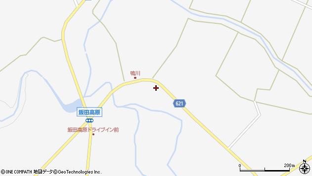 大分県玖珠郡九重町田野1669周辺の地図