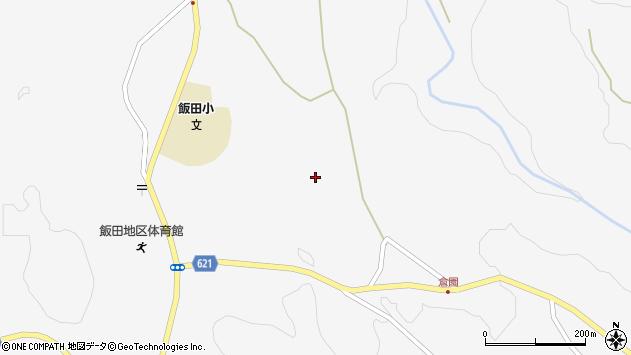 大分県玖珠郡九重町田野1474周辺の地図