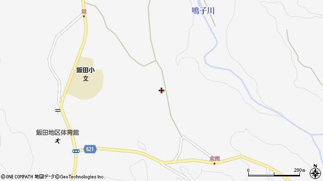 大分県玖珠郡九重町田野1471周辺の地図