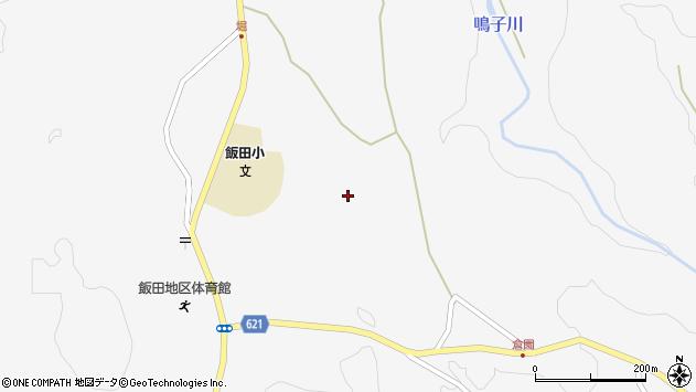 大分県玖珠郡九重町田野1484周辺の地図