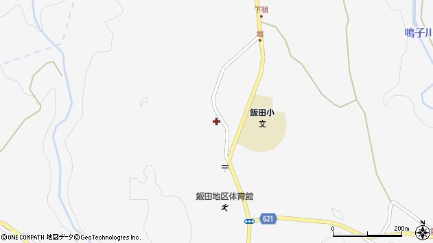 大分県玖珠郡九重町田野1598周辺の地図
