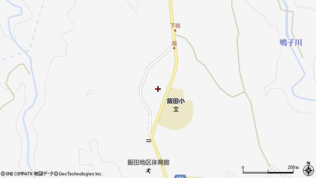 大分県玖珠郡九重町田野1606周辺の地図