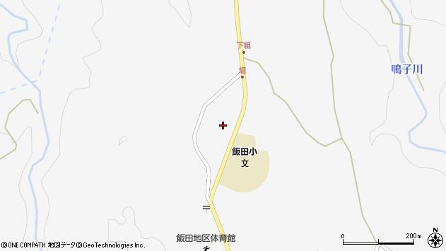 大分県玖珠郡九重町田野1582周辺の地図