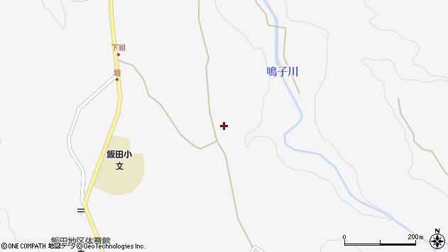 大分県玖珠郡九重町田野1466周辺の地図