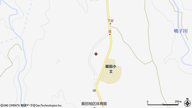 大分県玖珠郡九重町田野1605周辺の地図