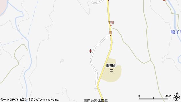 大分県玖珠郡九重町田野1585周辺の地図