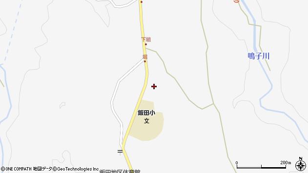 大分県玖珠郡九重町田野1613周辺の地図