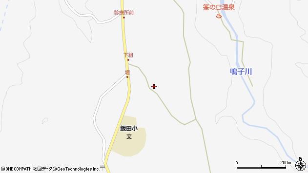 大分県玖珠郡九重町田野1518周辺の地図