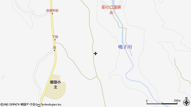 大分県玖珠郡九重町田野1465周辺の地図