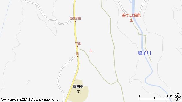 大分県玖珠郡九重町田野1515周辺の地図