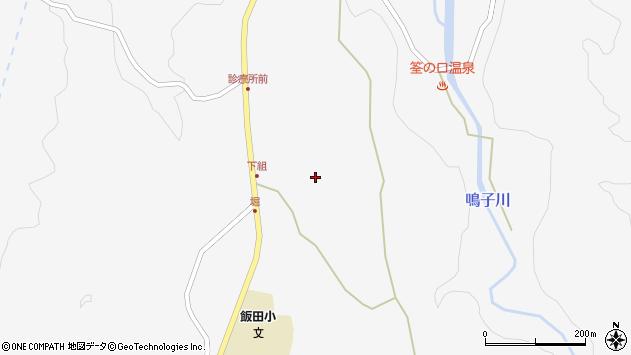 大分県玖珠郡九重町田野1529周辺の地図