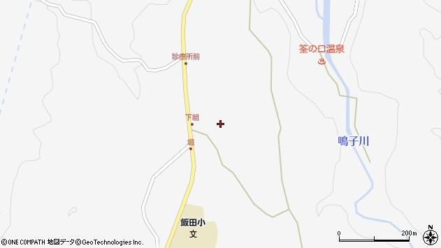 大分県玖珠郡九重町田野1526周辺の地図