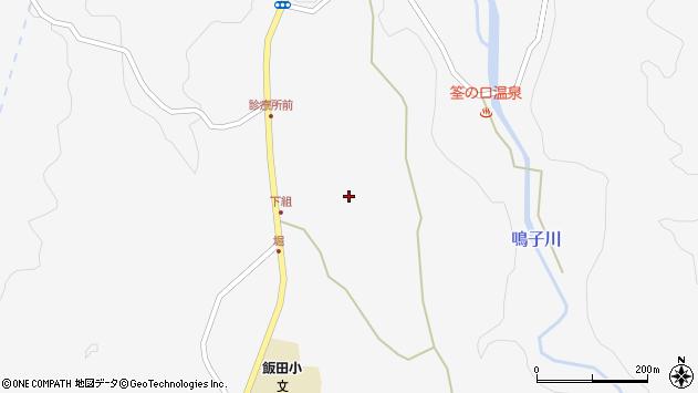 大分県玖珠郡九重町田野1525周辺の地図