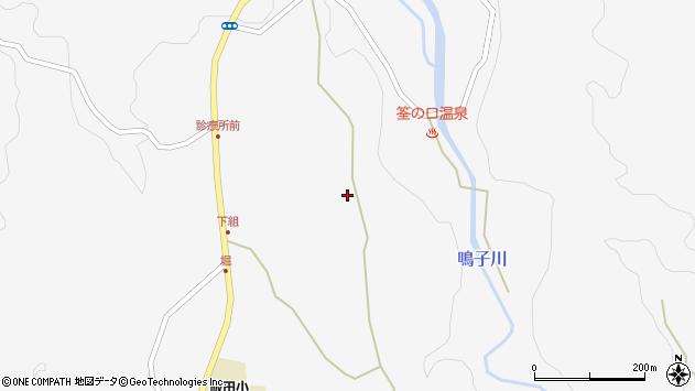 大分県玖珠郡九重町田野1447周辺の地図