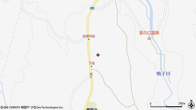大分県玖珠郡九重町田野1554周辺の地図