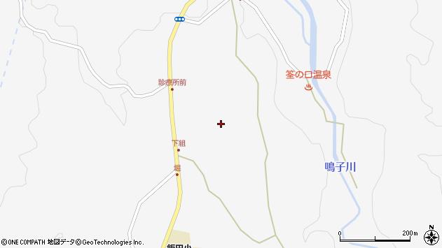 大分県玖珠郡九重町田野1439周辺の地図