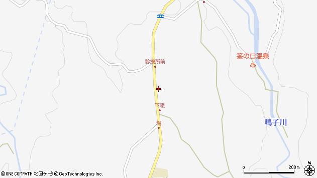 大分県玖珠郡九重町田野1452周辺の地図