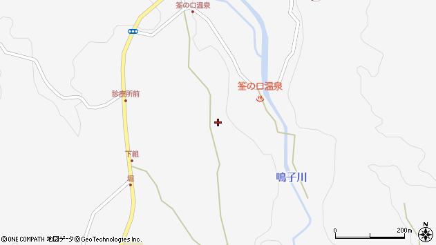 大分県玖珠郡九重町田野1449周辺の地図