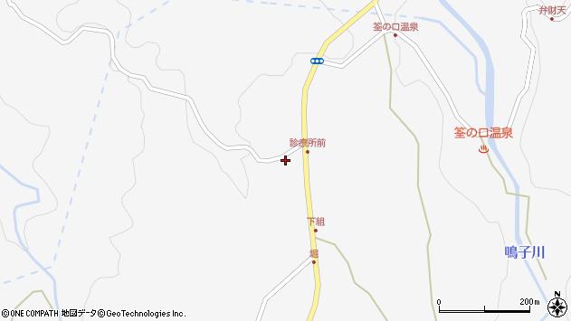 大分県玖珠郡九重町田野1560周辺の地図