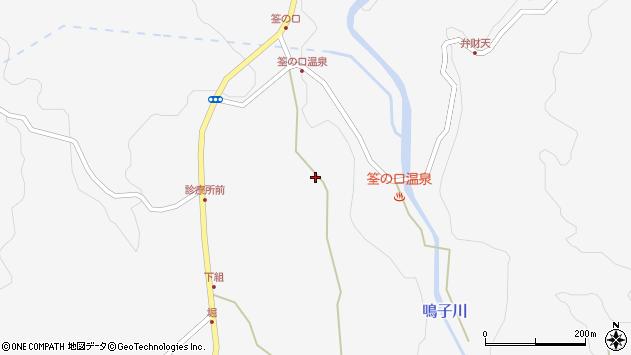 大分県玖珠郡九重町田野1382周辺の地図